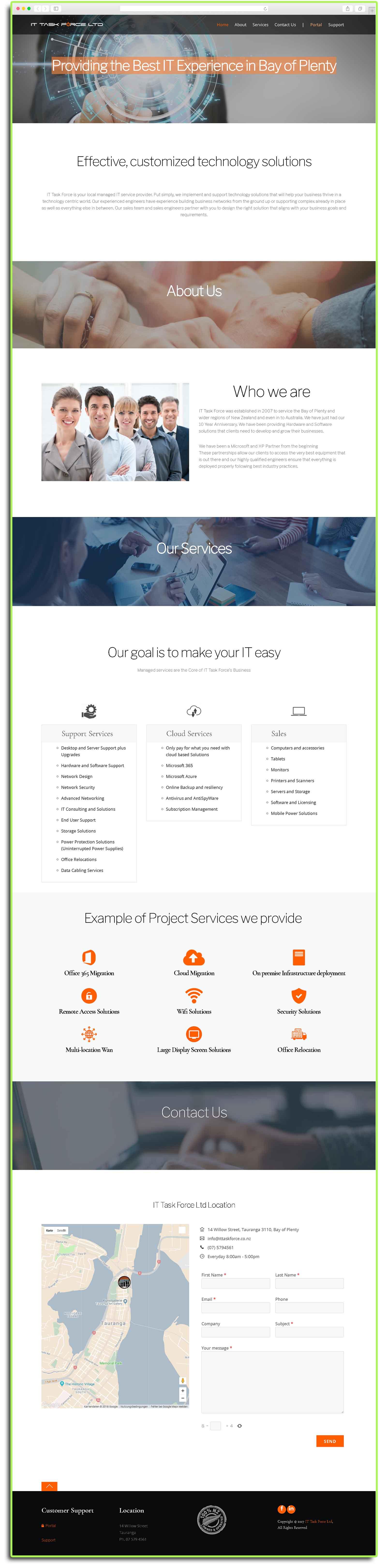 It Task Force Work by Daniel Kovacs Overview