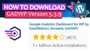 HOW TO DOWNLOAD GADWP - COVER