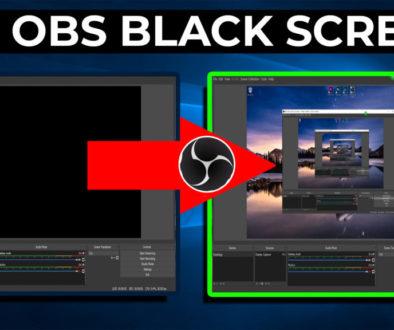 FIX OBS BLACK SCREEN display capture - Cover