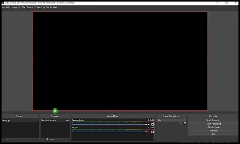 FIX OBS STUDIO BLACK SCREEN SOLUTION 1