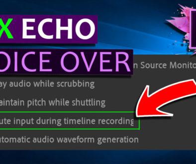 FIX Premiere Pro Voice Over Echo - Cover