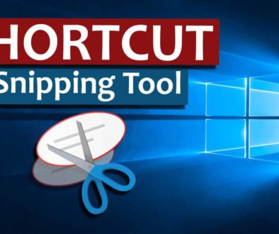 Windows 10 Shortcut Snipping Tool - Cover