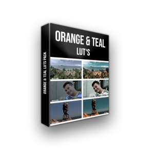 Orange and TEAL LUTS PACK 3D BOX