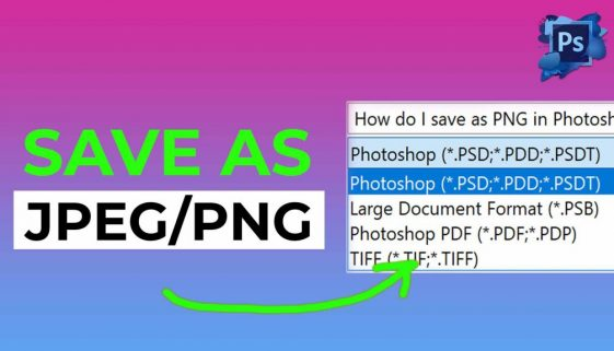 How do I save as PNG in Photoshop 2021 - COVER 1